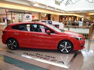 BEATS SHOE SHOPPING: Popped in for new shoes and bought a new car instead? Subaru is trialling pop-up car showrooms at large shopping centres.