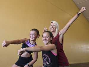 Young dancers learn from the best