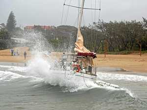 CCA 1801 Yacht on Jetty Beach