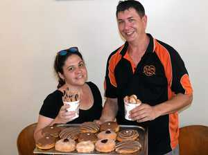 The Jolly Pretzel owners Erin Smith and Daniel Thorpe add donut fries and nuggets to their delicious menu.