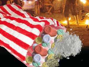 Festival-goer's lolly bag of MDMA, cocaine, acid, cannabis