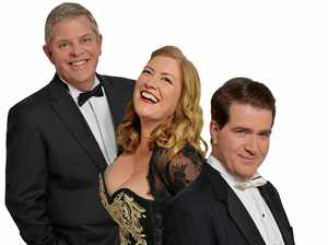 The Lanza Sings Again cast: (from top) Chris McKenna, Alison Jones and Roy Best.