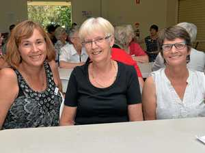Virginia O'Shanassy, Cyndie Smith and Janette Larkin.