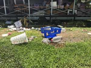 Tenants trash home