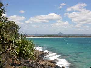 NEVER-ENDING GLORY: Looking towards Laguna Bay and Hastings St from Noosa National Park.