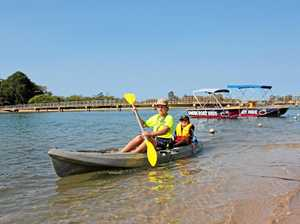 AQUATIC PLAYGROUND: Swan Boat Hire helps residents and visitors get out on to the Maroochy River in all manner of water craft.