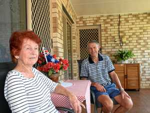 CHILLED: Valerie and Roy Jones are lucky to have a cool breeze flowing through their home.