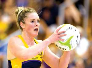 GRABBING THE CHANCE: Sunshine Coast Lightning wing attack/centre Laura Scherian looks forward to facing the Melbourne Vixens.