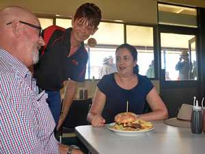 Big burger too much to handle for Premier