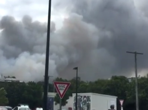 Two bushfires break out at Coolum