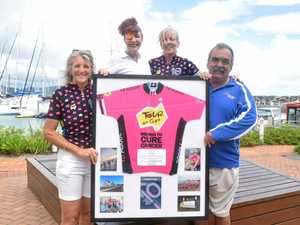 FUNDRAISING FORCE: Janelle Eastwood, Annie Judd, Shona Russell and John Mol.