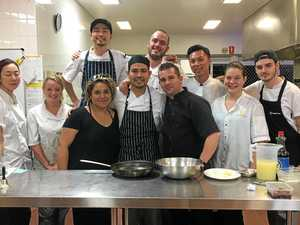 CHEFS: Cannonvale TAFE cooking students put on regular lunch and dinners throughout the year.