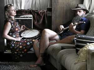 Hat Fitz and Cara love playing music around the world