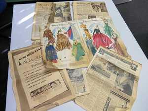 Wartime Women's Weeklys discovered under reno lino