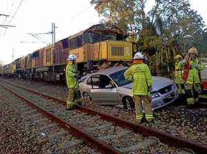 Charges laid over car left on train tracks crash
