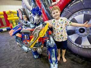 ACTION HERO: Transformers' Optimus Prime with Max Charalambous, 7.