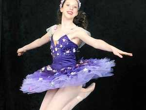 CHASING HER DREAM: Grace Mulherin from Riverhills will be performing in the show Cinderella at QPAC.