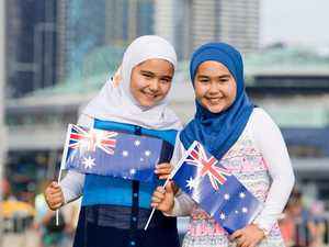 Australia Day girls in hijabs going national now