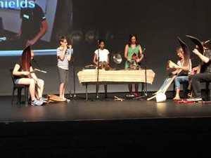 SUNfest environmental music workshop