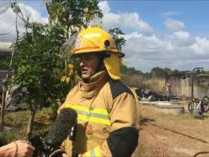 Caravan fire near Nikenbah