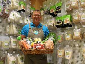 GOOD STUFF: Tweed nutritionist John Nankivell has opened his third health food store. He sells organic produce at wholesale prices to entice customers inside.