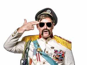 HELLO: Chopper will perform his new show Anzakistan at the Racehorse Hotel next month.