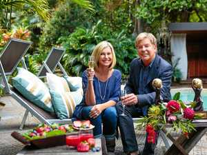 Olivia Newton-John and Gregg Cave at Gaia Retreat & Spa. Photo Contributed