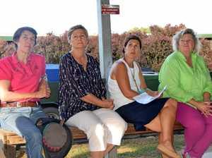 Linda Geddes, Leslie Olive, Danii McKenzie and Joanne Rea at the meeting
