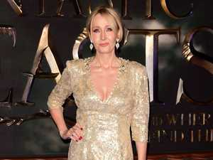 J.K. Rowling writes through severe back pain