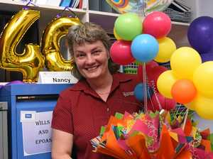WORKING HARD: Nancy Murray celebrates 40 years as a paralegal with Emmerson Legal and Accounting.