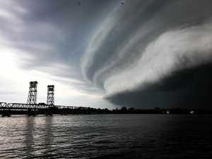 Spectacular photos as storm hits