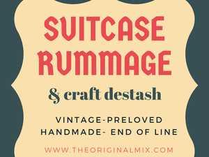 Vintage- Preloved- Handmade- End Of Line- Antique Flea market.