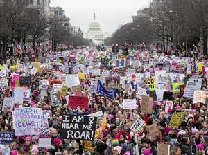 Anti-Trump marches draw millions around the world