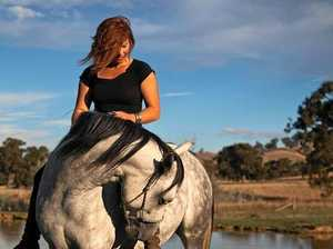 HELPING HAND: Sally Clayton with Jinx rehabilitates and rescues ponies.