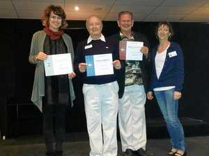 HERE'S A TOAST: Twin Towns Toastmasters Club members will celebrate their 40th anniversary on Wednesday, February 1.