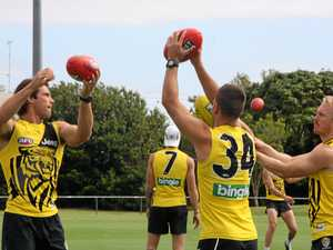 Tigers hit the Sunshine Coast for training camp
