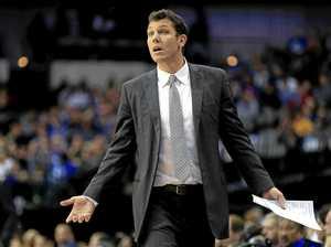LOST FOR ANSWERS: Los Angeles Lakers coach Luke Walton.