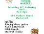 Market stalls