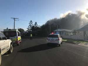 BREAKING: 'Lost everything': Barney Point house ruined by fire