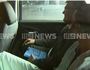 "Dimitrious ""Jimmy'' Gargasoulas is taken to a police station to be interviewed. Picture: Nine News Melbourne Twitter"