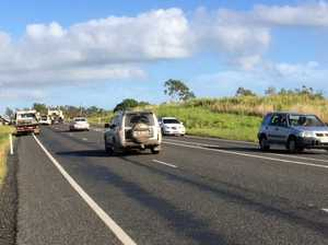 Coast man dead, Bowen man critical after horror Bruce Hwy crash