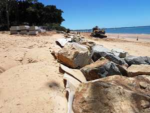 Construction of Torquay Revetment Wall resumes