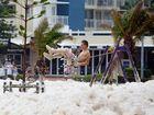 28.01.13 sea foam at Alex Heads, Sunshine Coast - User Contributed