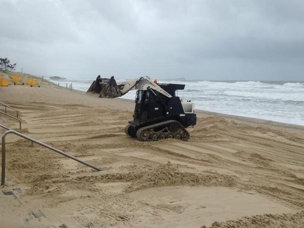Machinery will return to Maroochydore beach this week for sand rejuvenation work.