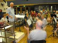 LES Holman has been playing tuba with the Sunshine Coast Concert Band for nearly 20 years.