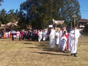Corpus Christi celebration draws a crowd