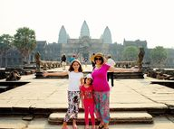 RECENTLY, our Australian family travel blog embarked on a trip to the amazing Kingdom of Wonders - Cambodia.