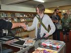 Arcadia Comics was welcomed to the Dark Magician building this weekend with a grand opening celebration.