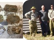 Queensland WW2 Relic Hunters are on the hunt again to return nine dogs all found in Camp Rockhampton.