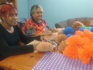 Goondir Health Services' Big Buddy Indigenous Youth Project has been preparing its entry into the Toowoomba Carnival of Flowers parade this Saturday 17 September.